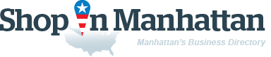 ShopInManhattan. Business directory of Manhattan - logo